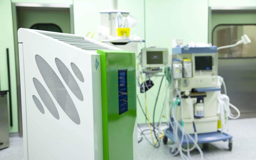 Come migliorare la qualità dell'aria e abbassare il rischio infettivo in stanze bcm, terapia intensiva e sala operatoria